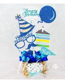 Happy Birthday Banner with Dutch Chocolate