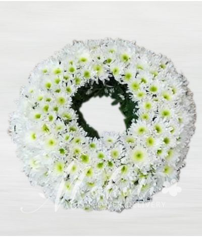Circular Urn Flower Arrangement