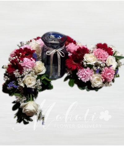 Sincerity Mixed Urn Flower Arrangement